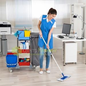 Уборка офиса утром