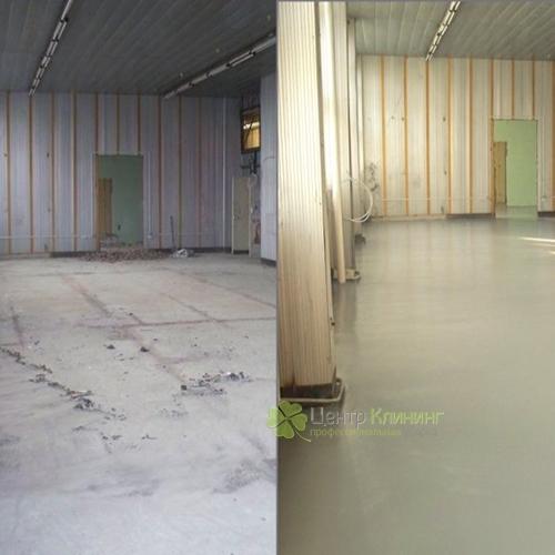 Заказать обработку бетонного пола