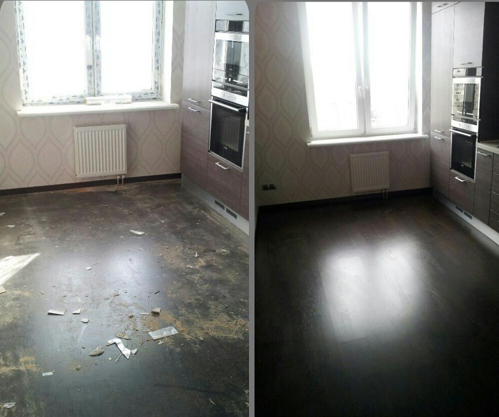 Стоимость уборки квартир